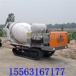 定制工程履带罐车 工程工地履带式运输车