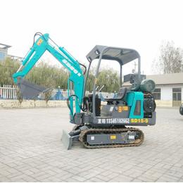 黑龙江省果园用的小型挖掘机价格 修水渠多功能小型挖掘机