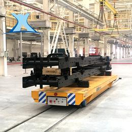 新乡百特低压轨道搬运平车生产重型物料方便