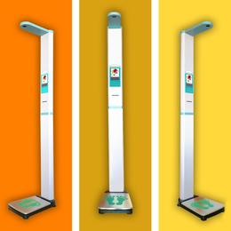 上禾科技超声波身高体重测量仪+智能身高体重秤+电子秤