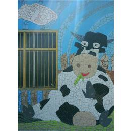 景德镇申达陶瓷厂(图)、艺术陶瓷背景墙、壁画
