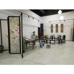 新中式风格书房-广东新中式书房-永辉家具套装