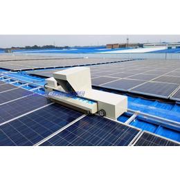 郑州厂家供应太阳能光伏板智能清扫机器人_光伏板清洁机器人缩略图