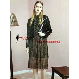 杭州 艾爾麗斯 女裝品牌折扣尾貨新品18秋冬裝女裝批發縮略圖