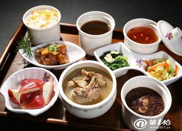 九江月嫂分享月子最全营养餐