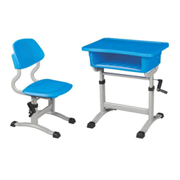 塑料手摇式升降课桌椅缩略图
