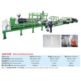 苏州金纬机械APET PETG CPET片材生产线