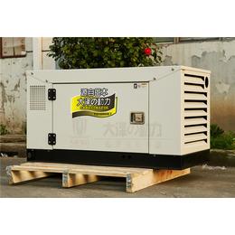 大泽原装12千瓦静音柴油发电机价格