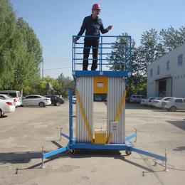 8米双柱铝合金升降平台液压升降机高空作业平台缩略图