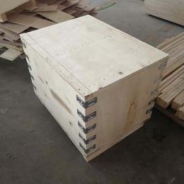 山东青岛黄岛木质包装箱厂家定制胶合板箱 出口专用实用方便