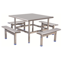 HL-A19125八位不锈钢条形餐桌