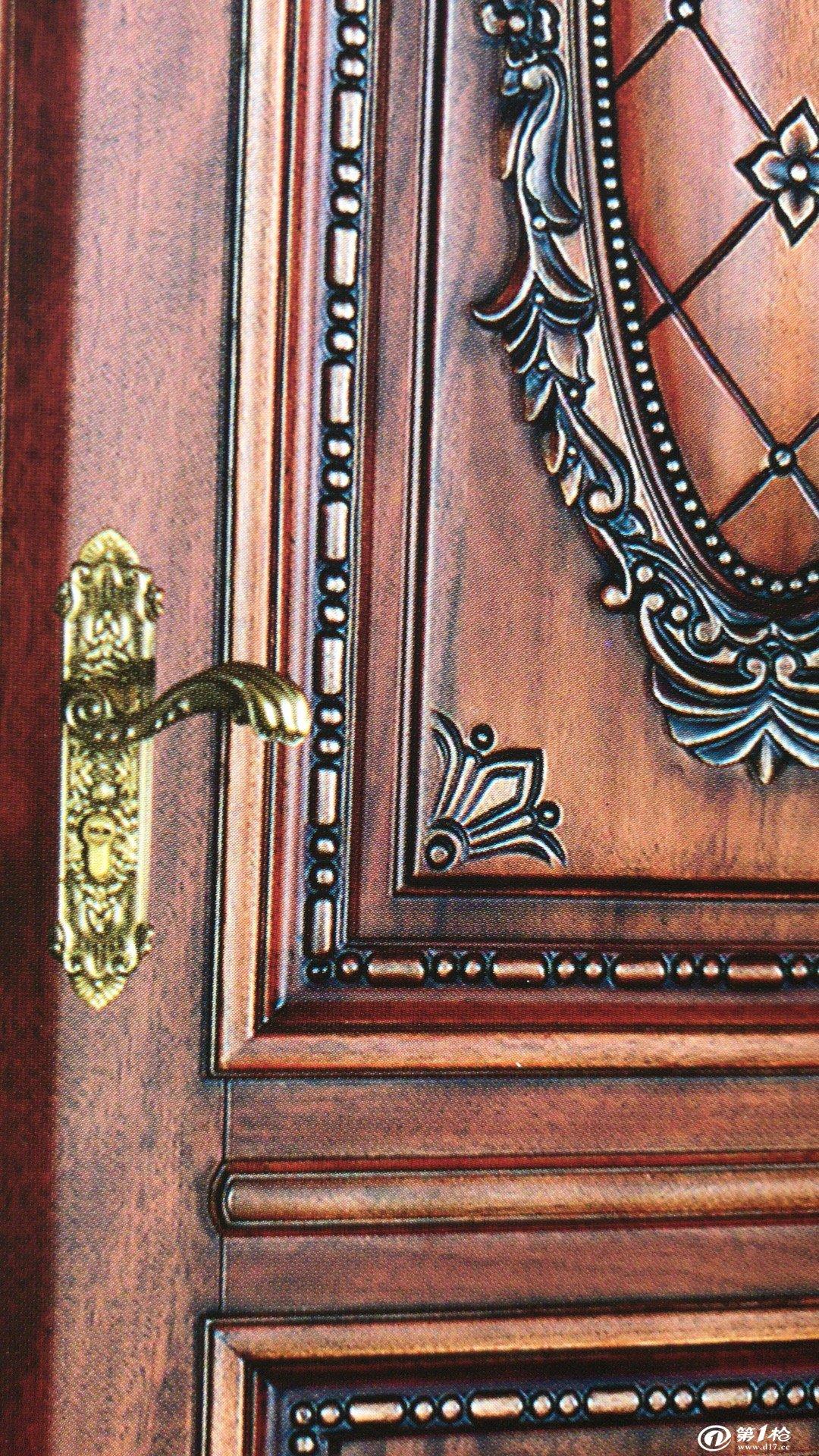 澳威y-6004罗马柱雕花木门