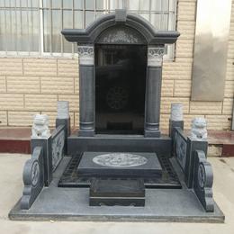 汉白玉墓碑 大理石夫妻合葬墓碑 支持定制
