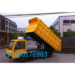 济南5吨电动翻斗车价格_自卸式电动载货车报价_运粮车