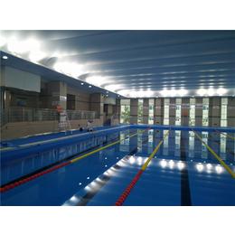泳池胶膜维修很快捷、泳池内壁装修、泳池胶膜