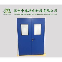 净化门 洁净钢制门 冷轧板喷塑防火钢制净化门
