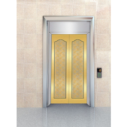 家用电梯门电梯厅门轿门门板 发纹不锈钢电梯门板定做缩略图