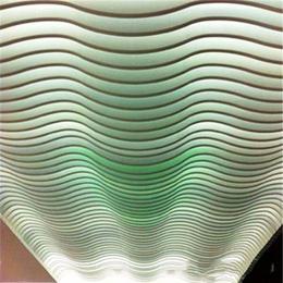 供应弧形铝方通 弧形铝格栅 波浪造型铝方通天花