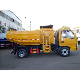 东风牌3吨5吨运输污泥车-全密闭清运含水污泥专用车