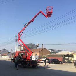 14米曲臂升降機 星漢優質高空作業平臺報價