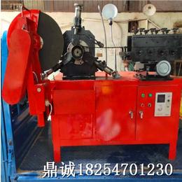 镀锌螺旋管卷管机 钢带波纹管制管机 鼎诚好用的卷管制管机