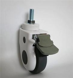 5寸医疗包壳丝杆刹车脚轮-医疗脚轮生产厂家缩略图