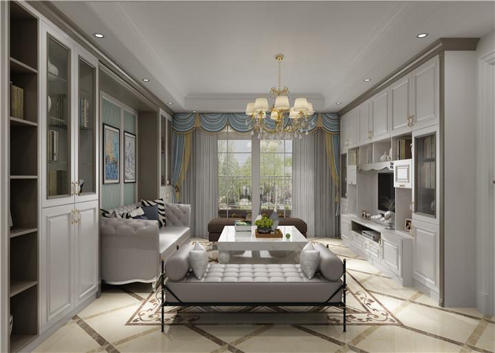 家具選擇找江西阿諾德 白色定制類多功能客廳柜
