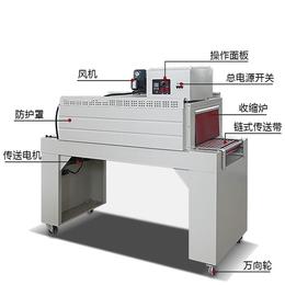 吴川全自动热收缩机高州PVC膜包装机化州PE膜收缩打包机材质
