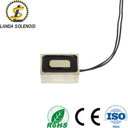 厂家直销小型方形吸盘式电磁铁 24V电源直流