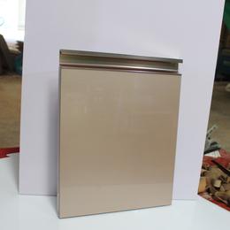 三聚氰胺板厨柜门板 亚克力H-908浅金G型拉手