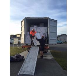 中国大件货物到加拿大全境海运物流<em>卡车</em>送货