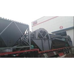 水洗轮价格洗沙机生产厂家山东青州永利