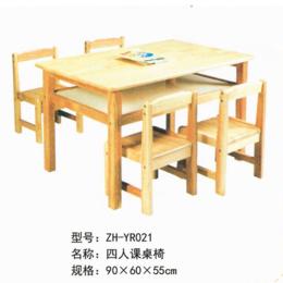 ZH-YR021四人课桌椅