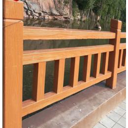 模具现浇栏杆水泥仿木护栏