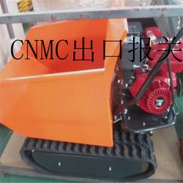湖北仙桃工程搬运小车履带液压1吨位推土铲运输车定制新款限量