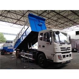 东正炎帝牌清运含水污泥12吨污泥运输车