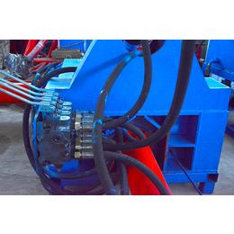 废钢压块机-力锋机械厂家直销-废钢压块机视频