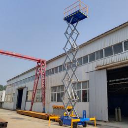 18米升降机 高空作业升降车 建德市优质18米升降平台价格