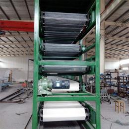 烘干输送机-强盛网链-烘干用输送机多少一米