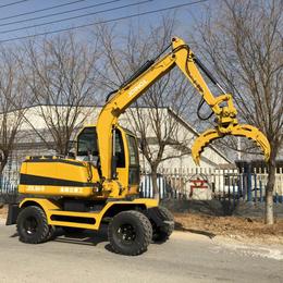 轮式挖掘机 哪家的小型轮式挖掘机好用 多功能小型挖掘机