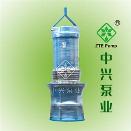 低扬程  大流量  清水泵  QZB潜水轴流泵