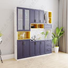 厂家直销全铝家具 全铝合金衣柜 全铝橱柜瓷砖柜体 加工定制