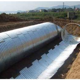 钢质波纹涵管_波纹管涵洞_隧道用拼装波纹涵管