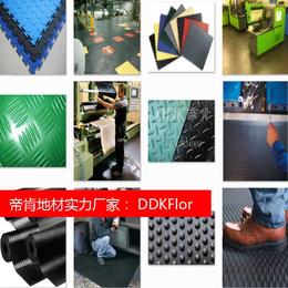 上海厂房耐磨地板胶 仓库PVC塑胶地板 厂房耐压地板厂家直销
