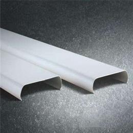门头广告牌专用铝扣板 白色铝条扣 R型铝扣板