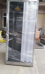 奥普PP耐腐蚀冲淋洗眼房常熟整体304不锈钢冲淋洗眼房缩略图