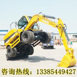 小型轮式挖掘机价格 轮式挖掘机价格优惠 质量可靠 全国联保