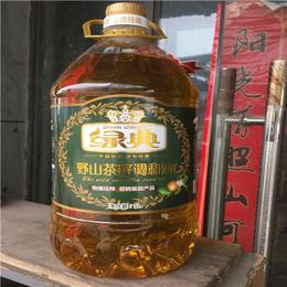 绿典野山茶籽调和油  5L