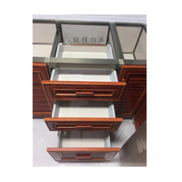 厂家批发陶瓷橱柜 瓷砖橱柜 全铝家居铝型材防水防火无甲