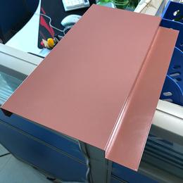 定制厂房吊顶铝扣板 G型铝条扣 勾搭式铝扣板